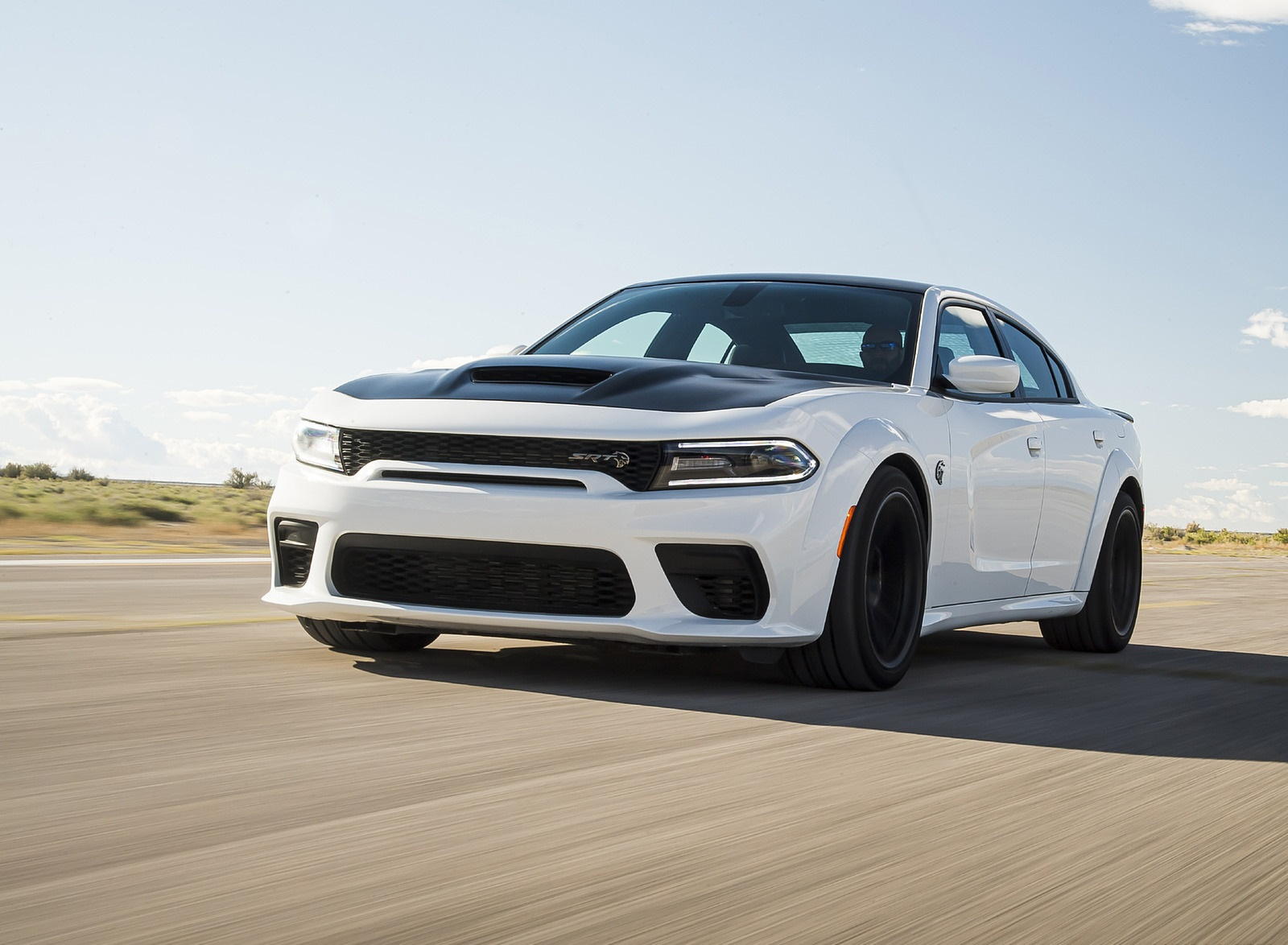 2021 Dodge Charger SRT Hellcat Redeye Front Wallpapers (7)