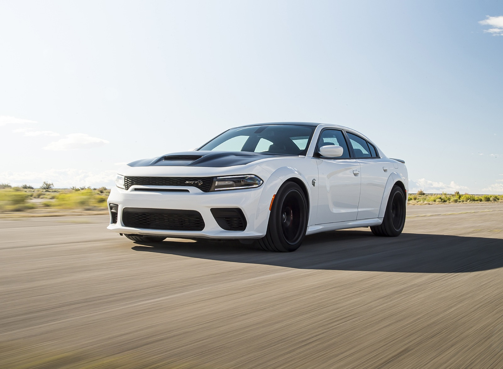 2021 Dodge Charger SRT Hellcat Redeye Front Wallpapers (1)