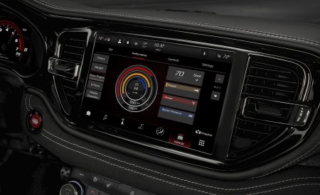 2021 Dodge Durango SRT Hellcat Central Console Wallpapers 450x275 (55)