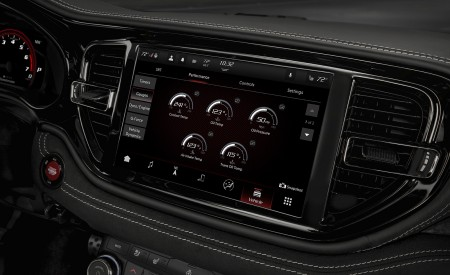 2021 Dodge Durango SRT Hellcat Central Console Wallpapers 450x275 (54)