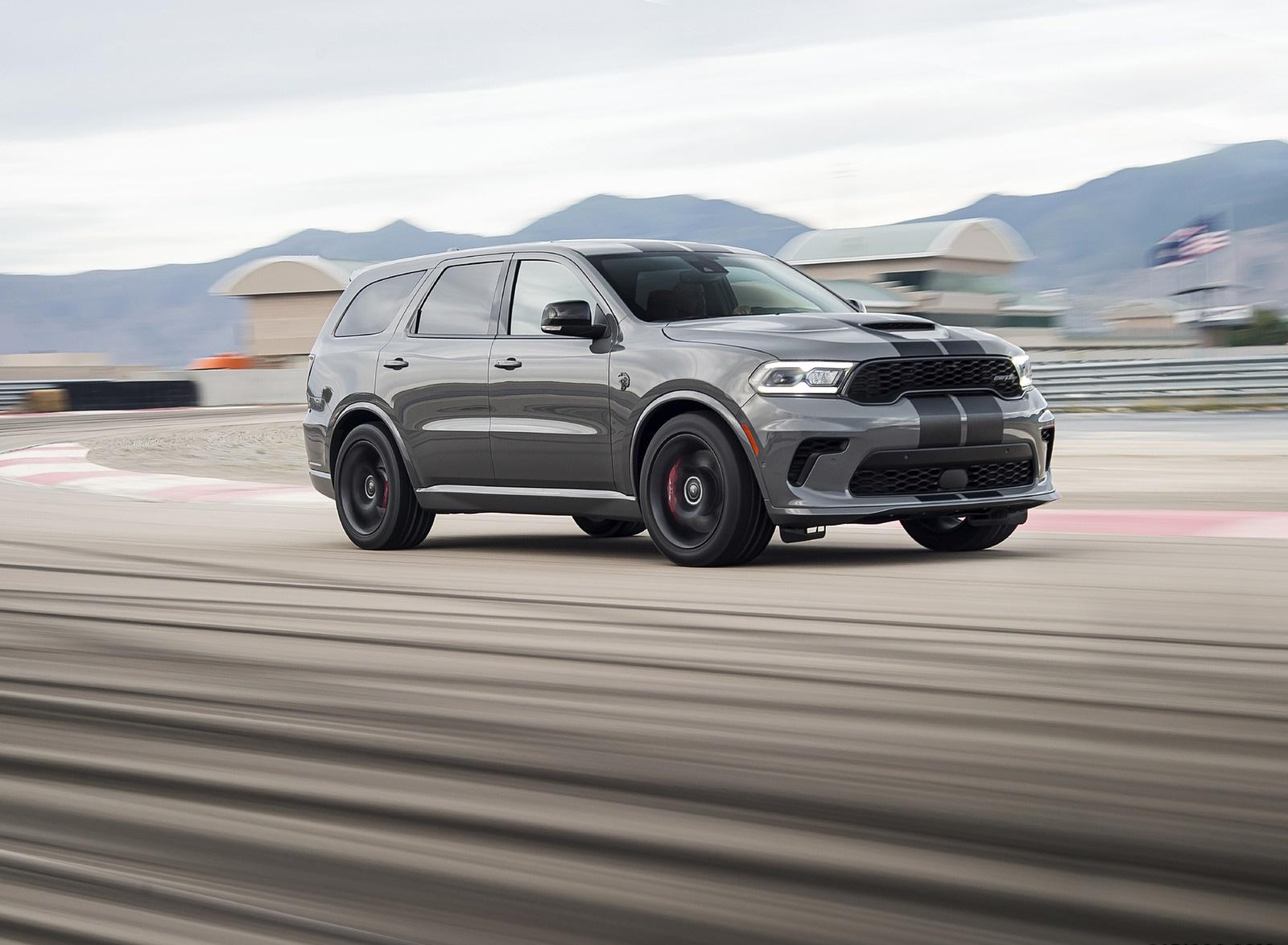 2021 Dodge Durango SRT Hellcat Front Three-Quarter Wallpapers (3)