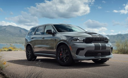 2021 Dodge Durango SRT Hellcat Front Three-Quarter Wallpapers 450x275 (29)