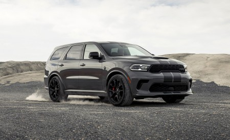 2021 Dodge Durango SRT Hellcat Front Three-Quarter Wallpapers 450x275 (15)