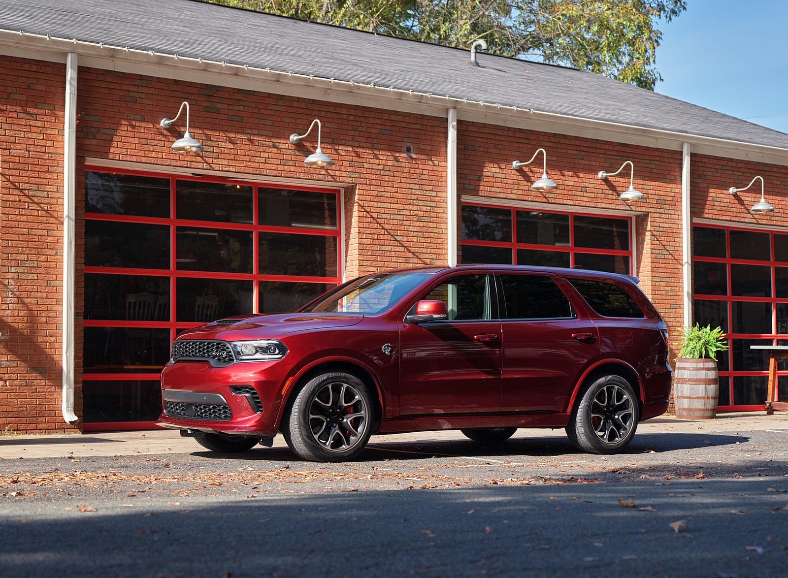 2021 Dodge Durango SRT Hellcat Front Three-Quarter Wallpapers (10)