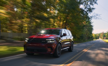 2021 Dodge Durango SRT Hellcat Front Wallpapers  450x275 (3)