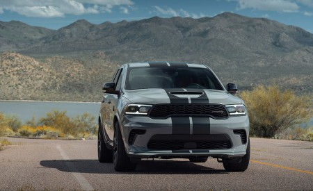 2021 Dodge Durango SRT Hellcat Front Wallpapers 450x275 (27)