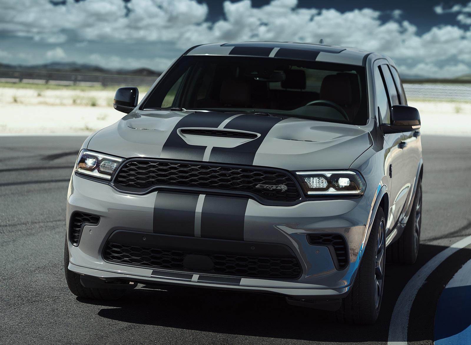 2021 Dodge Durango Srt Hellcat Front Wallpapers 6 Newcarcars