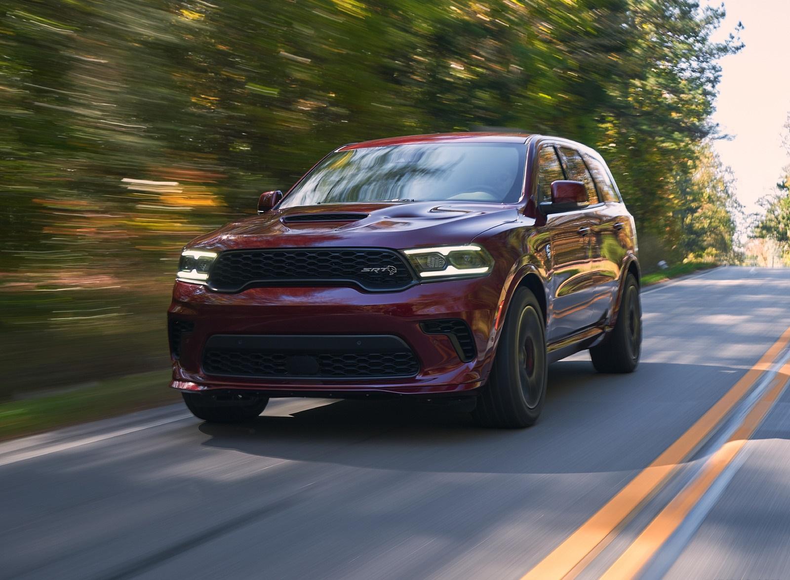 2021 Dodge Durango SRT Hellcat Front Wallpapers  (1)