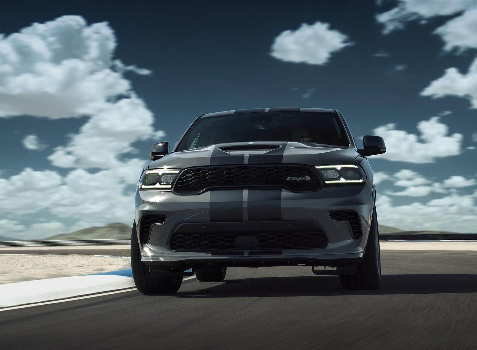 2021 Dodge Durango SRT Hellcat Front Wallpapers (8)