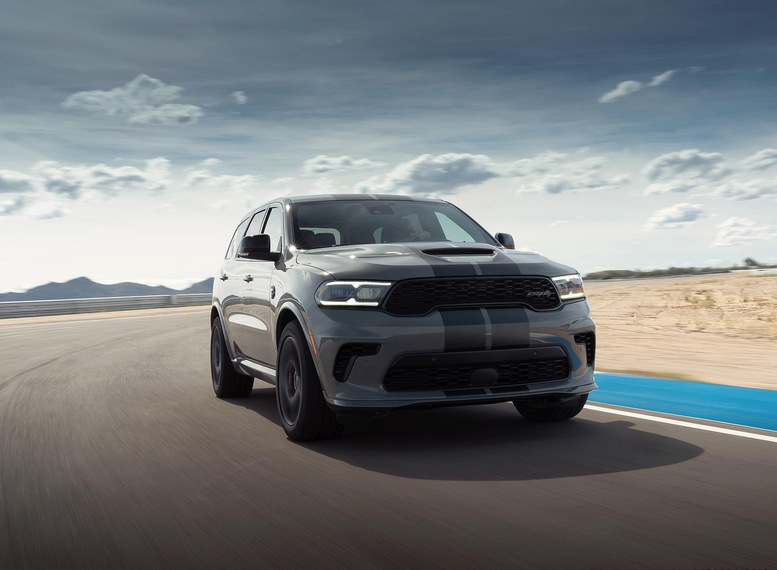 2021 Dodge Durango Srt Hellcat Front Wallpapers 9 Newcarcars