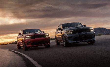 2021 Dodge Durango SRT Hellcat Front Wallpapers 450x275 (20)