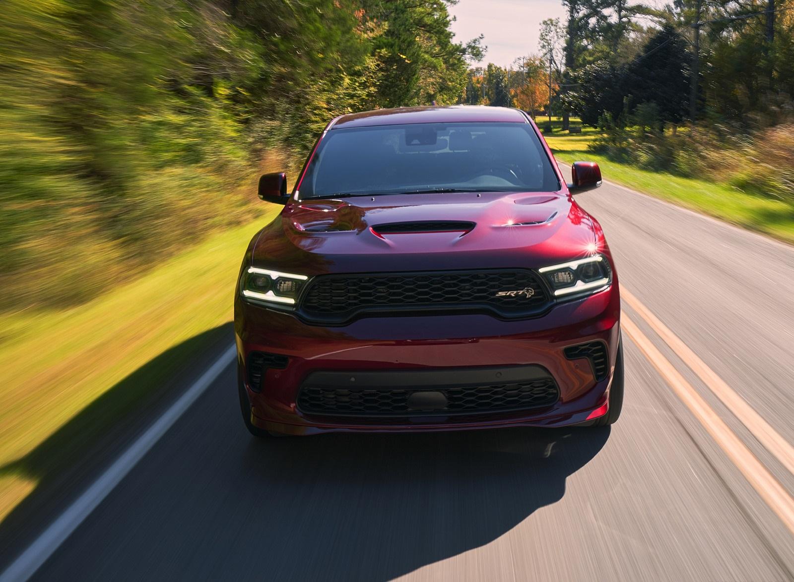 2021 Dodge Durango SRT Hellcat Front Wallpapers (2)