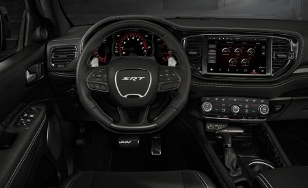 2021 Dodge Durango SRT Hellcat Interior Cockpit Wallpapers 450x275 (47)