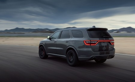 2021 Dodge Durango SRT Hellcat Rear Three-Quarter Wallpapers 450x275 (21)