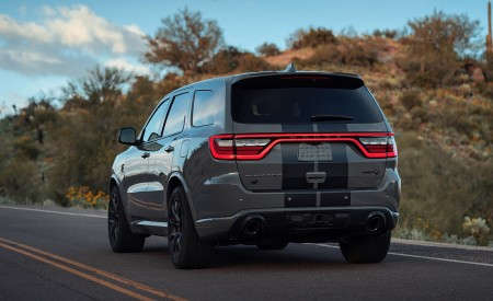 2021 Dodge Durango SRT Hellcat Rear Three-Quarter Wallpapers 450x275 (22)