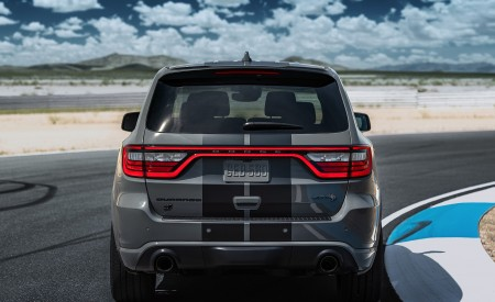 2021 Dodge Durango SRT Hellcat Rear Wallpapers 450x275 (12)