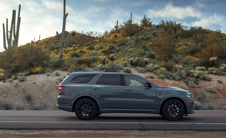 2021 Dodge Durango SRT Hellcat Side Wallpapers 450x275 (24)