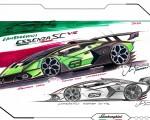 2021 Lamborghini Essenza SCV12 Design Sketch Wallpapers 150x120 (28)