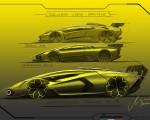 2021 Lamborghini Essenza SCV12 Design Sketch Wallpapers 150x120 (31)