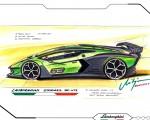2021 Lamborghini Essenza SCV12 Design Sketch Wallpapers 150x120 (30)