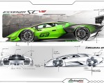 2021 Lamborghini Essenza SCV12 Design Sketch Wallpapers 150x120 (29)