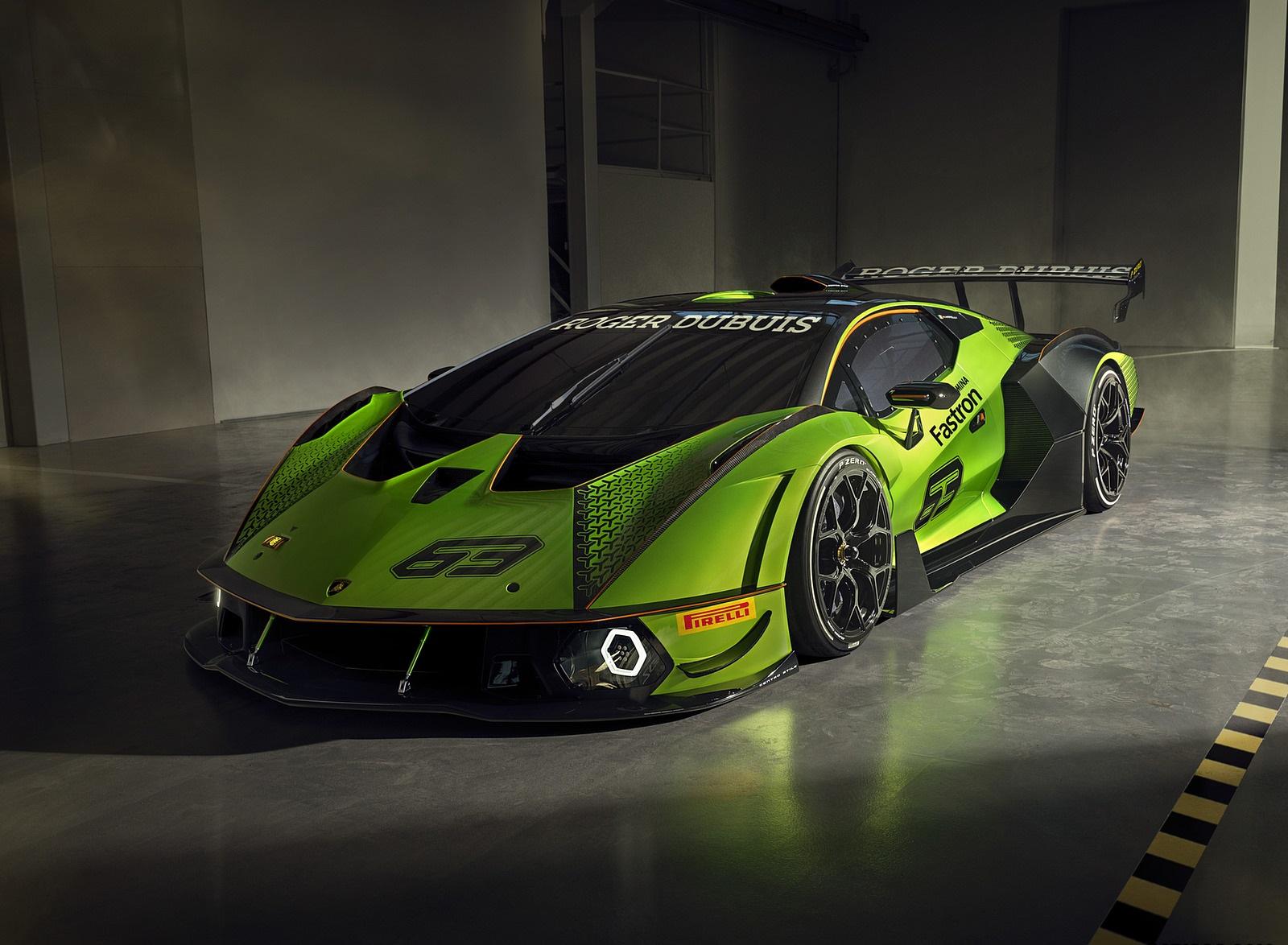 2021 Lamborghini Essenza SCV12 Front Three-Quarter Wallpapers (3)