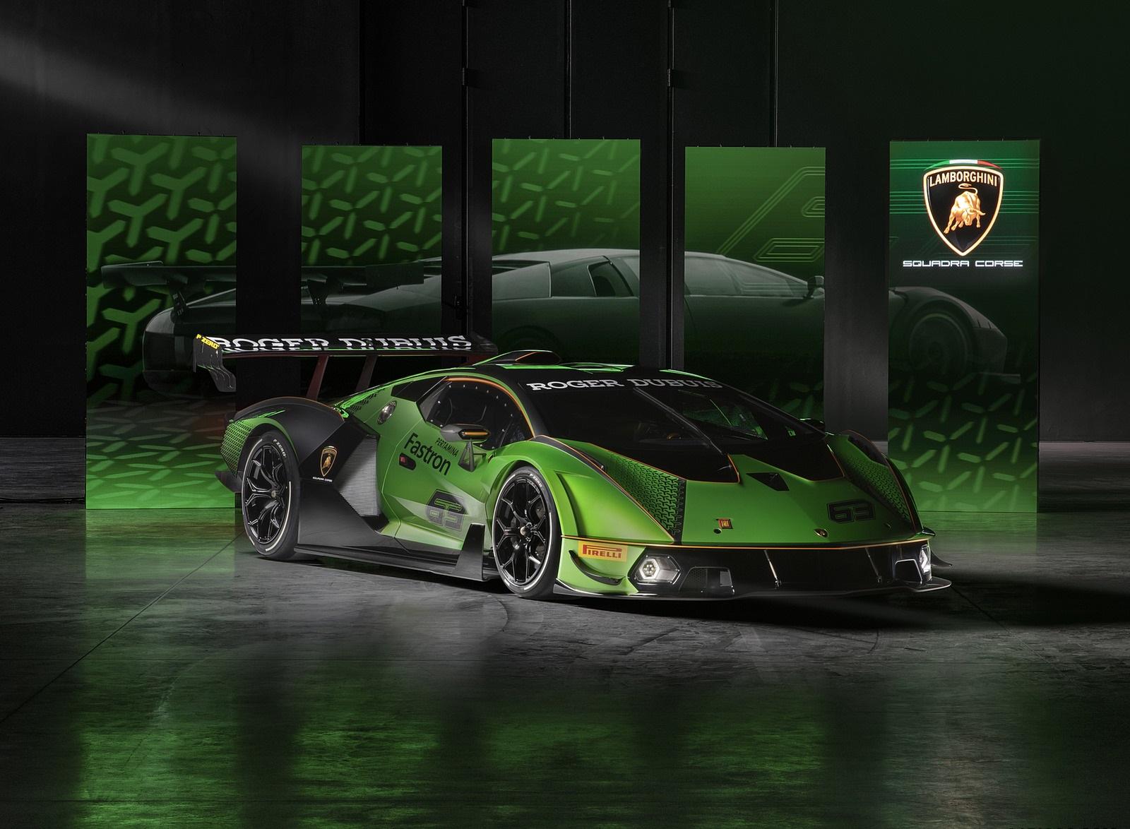 2021 Lamborghini Essenza SCV12 Front Three-Quarter Wallpapers (9)