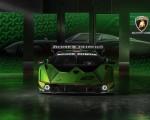 2021 Lamborghini Essenza SCV12 Front Wallpapers 150x120 (12)