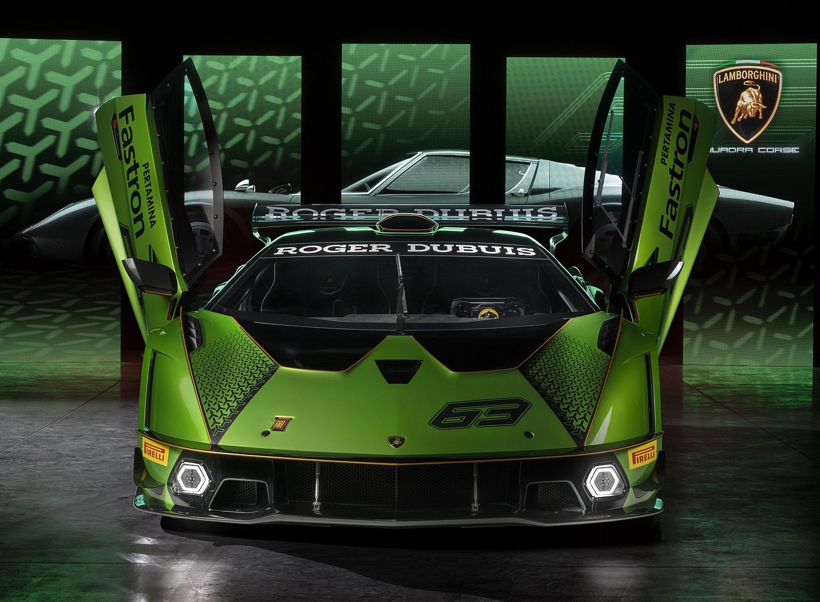 2021 Lamborghini Essenza SCV12 Front Wallpapers (10)