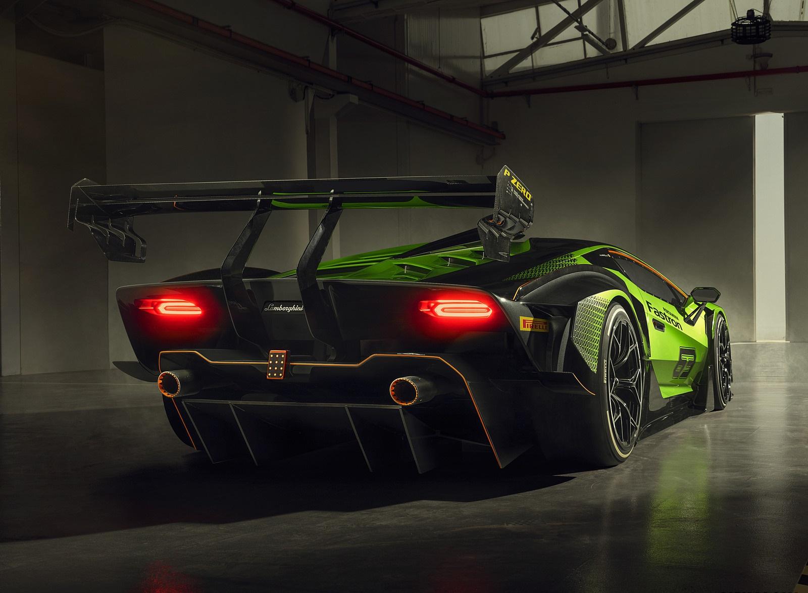 2021 Lamborghini Essenza SCV12 Rear Three-Quarter Wallpapers (5)