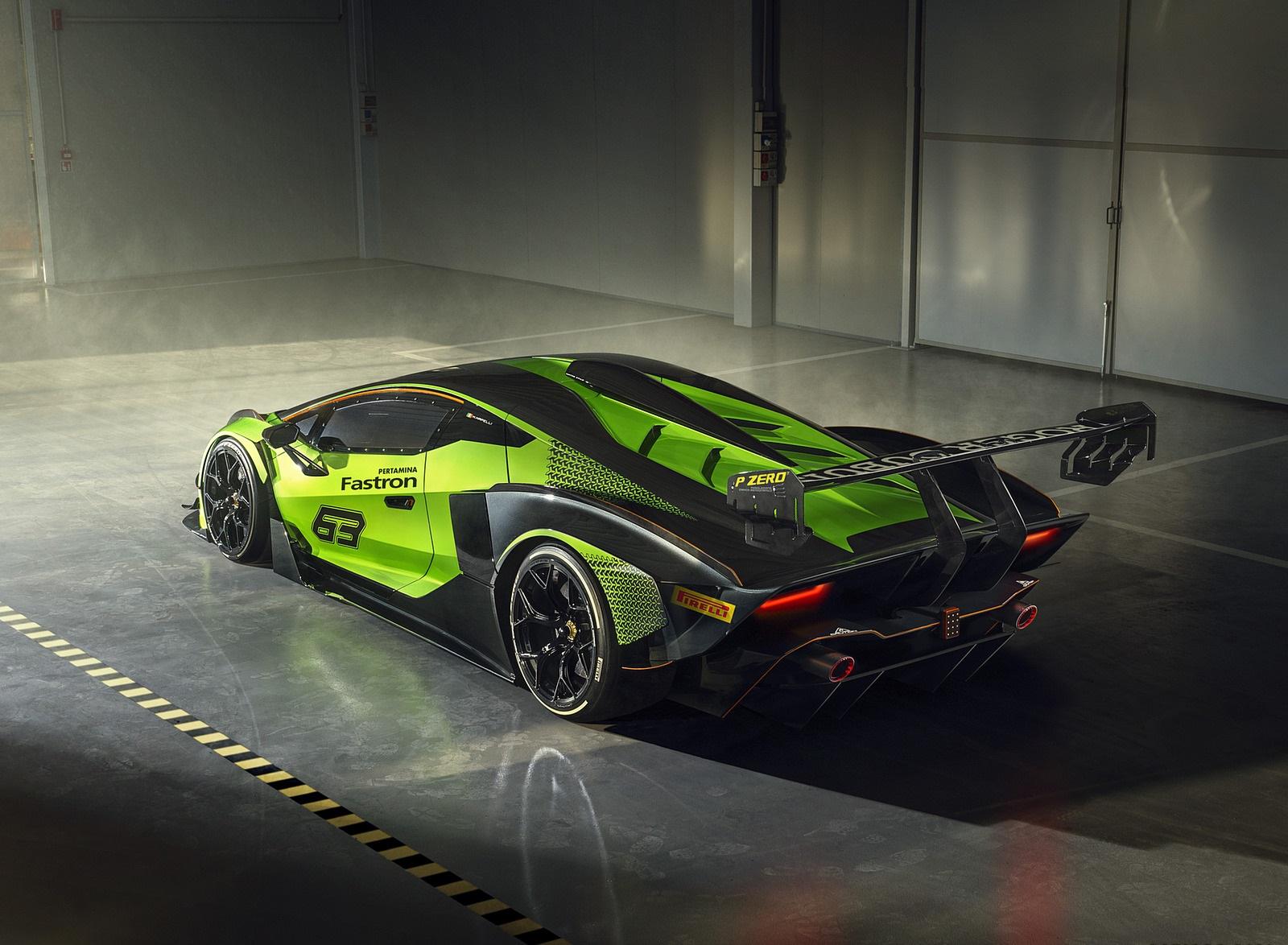 2021 Lamborghini Essenza SCV12 Rear Three-Quarter Wallpapers (6)