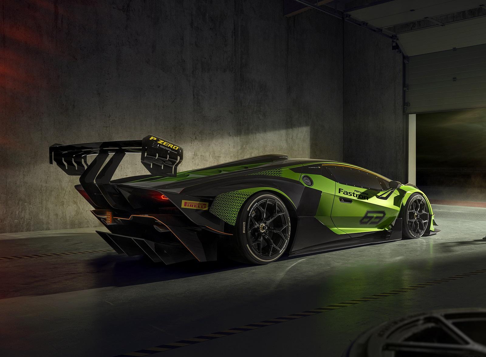 2021 Lamborghini Essenza SCV12 Rear Three-Quarter Wallpapers (7)