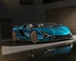 2021 Lamborghini Sián Roadster Front Three-Quarter Wallpapers 150x120