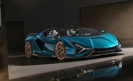 2021 Lamborghini Sián Roadster Front Three-Quarter Wallpapers 450x275 (13)