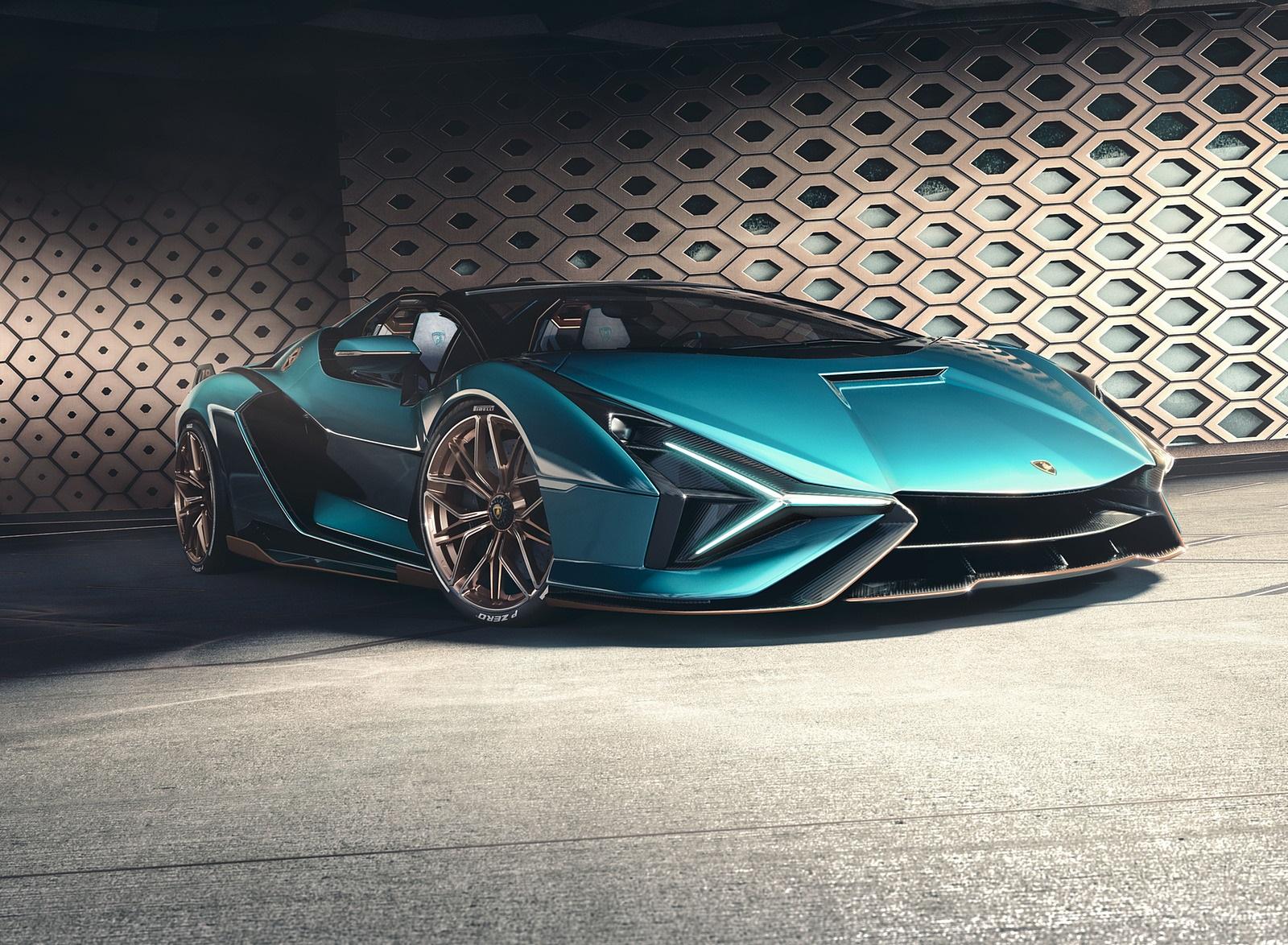 2021 Lamborghini Sián Roadster Front Three-Quarter Wallpapers #11 of 19