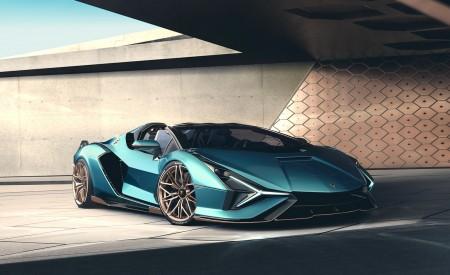 2021 Lamborghini Sián Roadster Front Three-Quarter Wallpapers 450x275 (4)