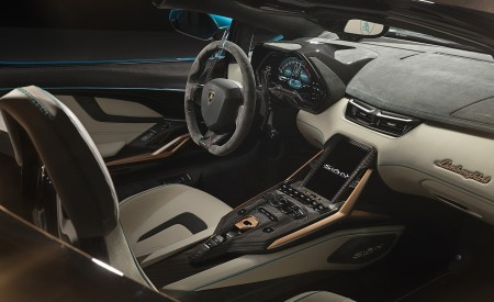 2021 Lamborghini Sián Roadster Interior Wallpapers 450x275 (19)
