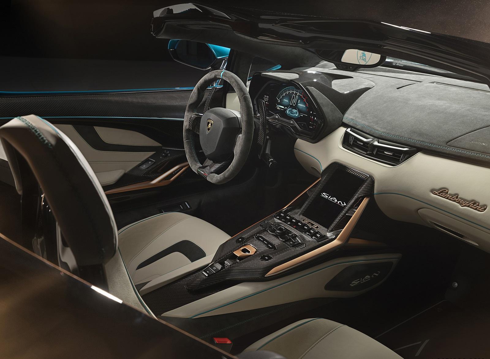 2021 Lamborghini Sián Roadster Interior Wallpapers #19 of 19