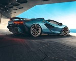 2021 Lamborghini Sián Roadster Rear Three-Quarter Wallpapers 150x120
