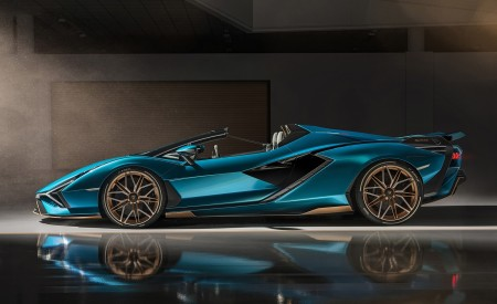 2021 Lamborghini Sián Roadster Side Wallpapers 450x275 (15)