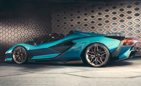 2021 Lamborghini Sián Roadster Side Wallpapers 450x275 (12)