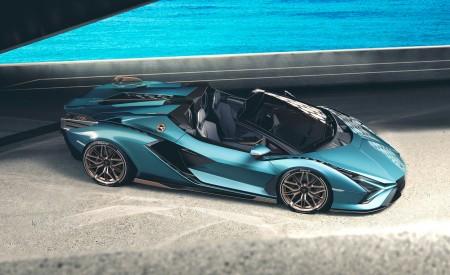 2021 Lamborghini Sián Roadster Side Wallpapers 450x275 (5)