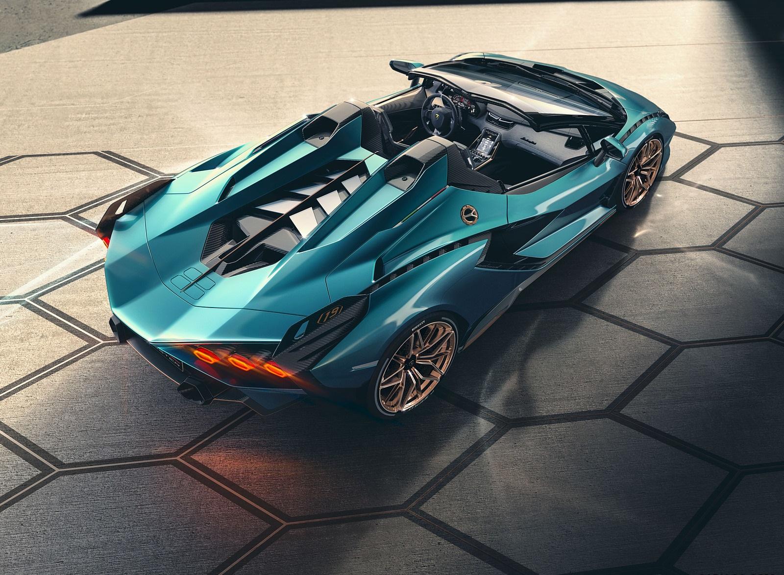 2021 Lamborghini Sián Roadster Top Wallpapers #8 of 19