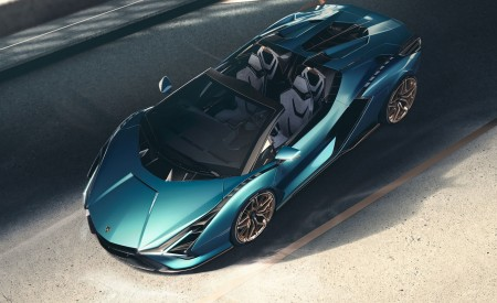 2021 Lamborghini Sián Roadster Top Wallpapers 450x275 (7)