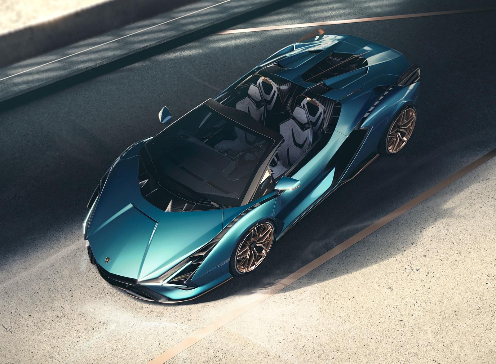 2021 Lamborghini Sián Roadster Top Wallpapers (7)