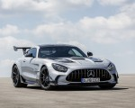 2021 Mercedes-AMG GT Black Series (Color: High Tech Silver) Front Three-Quarter Wallpapers 150x120 (44)