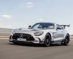2021 Mercedes-AMG GT Black Series (Color: High Tech Silver) Front Three-Quarter Wallpapers 150x120 (13)