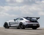 2021 Mercedes-AMG GT Black Series (Color: High Tech Silver) Rear Three-Quarter Wallpapers 150x120 (46)