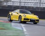 2021 Porsche 911 Turbo (Color: Racing Yellow) Front Three-Quarter Wallpapers  150x120 (12)
