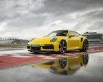 2021 Porsche 911 Turbo (Color: Racing Yellow) Front Three-Quarter Wallpapers 150x120 (16)